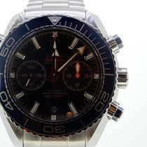 Omega 215.30.46.51.03.001 Acier 2017 Seamaster Planet Ocean Chronograph 45.5mm nouveau