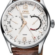Oris Artelier Calibre 113 Steel 43mm Silver United States of America, New York, Airmont