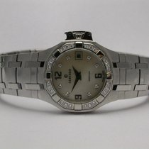 Concord Saratoga Stainless Steel Mop Diamond Bezel & Markers...