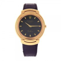 Rolex Cellini 18k Yellow Gold Swiss Quartz Men's Watch - 6623