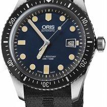 Oris Divers Sixty Five Steel 42mm Blue