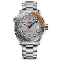 Omega Seamaster Planet Ocean Titanium 43.5mm Grey No numerals