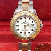 Rolex Yacht-Master Gold/Steel 29mm White No numerals