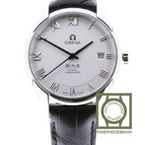 Omega De Ville Co-Axial Acier 41mm Blanc Romain