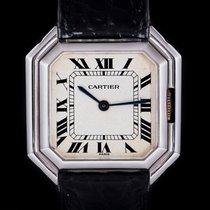Cartier Tank (submodel) White gold 30mm White Roman numerals