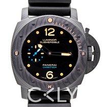 沛納海 Luminor Submersible 1950 Carbotech 3 Days Automatic Black C