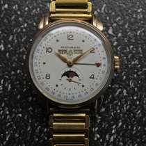 Movado Gold/Steel Manual winding pre-owned