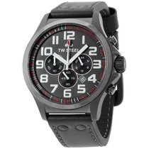 TW Steel Chronograph 45mm Quartz new Black