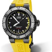 Oris Aquis Depth Gauge 01 733 7675 4754-Set RS new