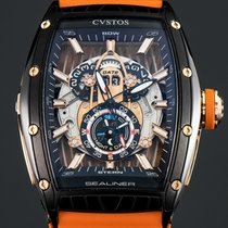 Cvstos new Automatic 59mm Steel Sapphire crystal
