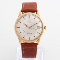 Omega Yellow gold Automatic pre-owned Genève