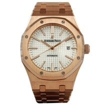 Audemars Piguet Royal Oak Selfwinding tweedehands 41mm Wit Datum Vouw