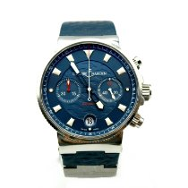 Ulysse Nardin Blue Seal Steel 41mm Blue No numerals