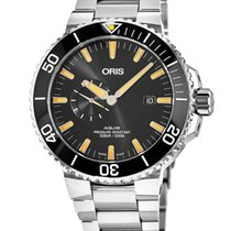 Oris Aquis Small Second No numerals United States of America, New York, Brooklyn