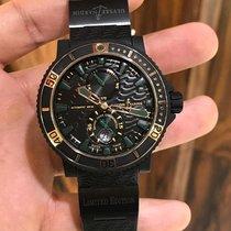 Ulysse Nardin Diver Black Sea Gold/Steel 45.8mm Black No numerals