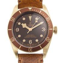 튜더 Black Bay Bronze 브론즈 43mm 갈색 아라비아 숫자