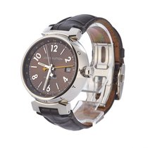 Louis Vuitton Steel 39mm Automatic Q1131 pre-owned