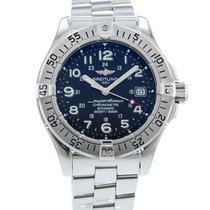 Breitling Steel 42mm Automatic A17360 pre-owned