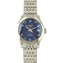 Longines Record Steel 26mm Blue