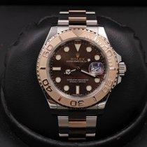 Rolex Yacht-Master 40 Gold/Steel 40mm Brown United States of America, California, Huntington Beach