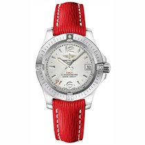 Breitling Colt Lady Steel 33mm Arabic numerals