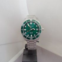 Certina DS Action Steel 41mm Green No numerals