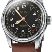 Oris Big Crown Pointer Date Steel 40mm Black Arabic numerals