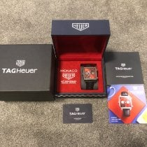 TAG Heuer Monaco Steel 39mm Red United Kingdom, Newtownabbey