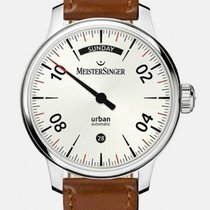Meistersinger Urban Steel 40mm Silver