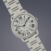 Cartier Ronde Solo de Cartier Stahl 42mm Arabisch