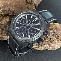 Tudor Fastrider Black Shield neu 2019 Automatik Chronograph Uhr mit Original-Box und Original-Papieren 42000CN