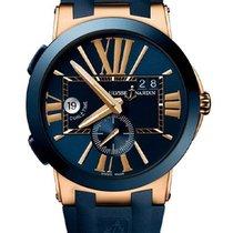 Ulysse Nardin Executive Dual Time 246-00-3/43 Ny Rosa guld 43mm Automatisk