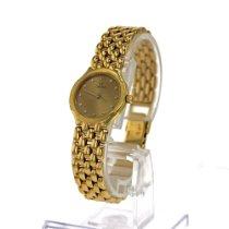 Omega De Ville Gelbgold 22mm Gold Keine Ziffern