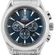 Omega Seamaster Aqua Terra Steel 44mm Blue United Kingdom, Wilmslow