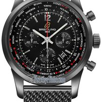 Breitling Transocean Chronograph Unitime Pilot mb0510u6/bc80-s...