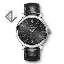 IWC Portofino Automatic, Stainless Steel, Black Dial - Iw356502