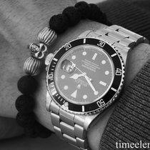 Rolex Submariner Date 16800 Transitional Vanilla Tritium aus 1988