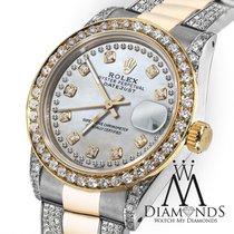 Rolex Lady-Datejust Gold/Steel 31mm White