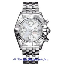 Breitling Chrono Galactic Steel 39mm White United States of America, California, Newport Beach