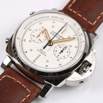 Panerai Luminor 1950 3 Days Chrono Flyback neu 2021 Automatik Chronograph Uhr mit Original-Box und Original-Papieren PAM00654