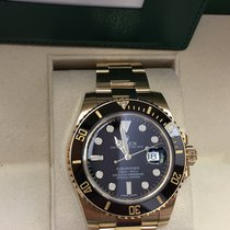 Rolex Submariner Date Full Gold Box & Papers 12-2014