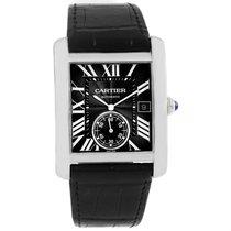 Cartier Tank Mc Black Dial Automatic Mens Watch W5330004