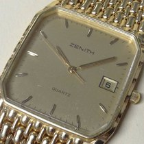 Zenith Rare Vintage, Quartz Mens Watch, Gold 18K