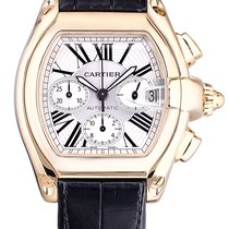 Cartier Roadster Chronograph XL 18K Solid Yellow Gold W62021Y3