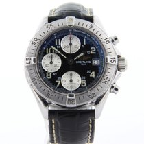 Breitling Chronomat with papers and service box - A13050.1