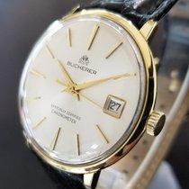Carl F. Bucherer 1970s 18K Gold Vintage 34mm Mens Swiss...