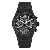 TAG Heuer Carrera Heuer-02T new Automatic Watch with original box and original papers CAR5A8W.FT6071