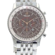 Breitling Navitimer Montbrillant A41370 Watch with Stainless...