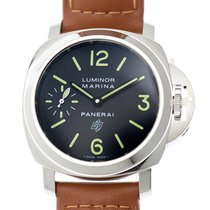 Panerai Luminor Stainless Steel Black Manual Wind PAM01005