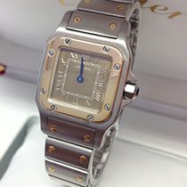 Cartier Santos Galbee Ladies 23mm Bi/Colour -  Serviced by...